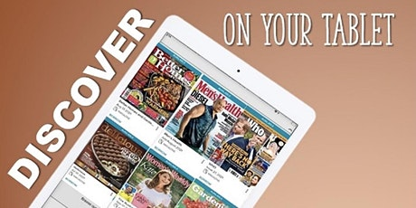 HOW TO: ACCESS EMAGAZINES & INDYREADS ON YOUR TABLET tickets