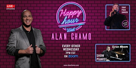 Happy Hour with Alan Chamo    featuring  Singer Tony Pace tickets