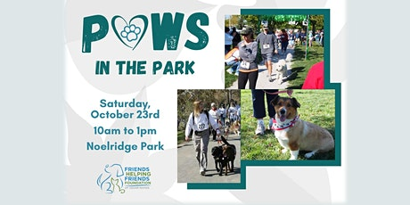 PAWS in the Park Dog Walk tickets