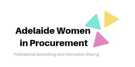 Adelaide Women in Procurement: Networking Dinner tickets
