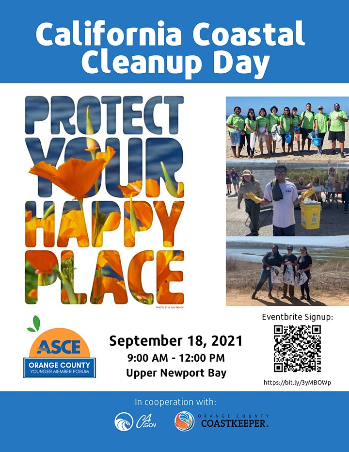 2021 California Coastal Cleanup Day with ASCE OC YMF image