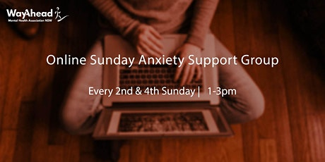 Online Sunday Anxiety Support Group tickets