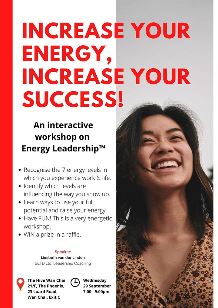 'Increase your ENERGY – Increase your SUCCESS!' + Networking (Ladies only) image