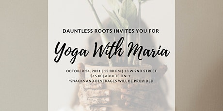 Yoga With Maria tickets