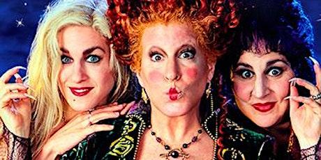HOCUS POCUS EVENT 6:00 Movie 8:45 Tour tickets