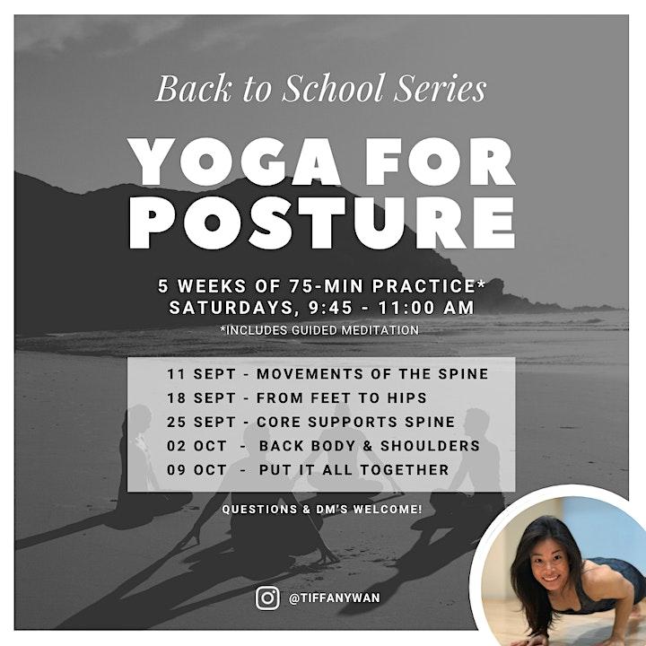 75-min Yoga for Posture, with mini Meditation image