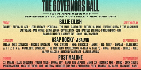 Governors Ball NYC tickets