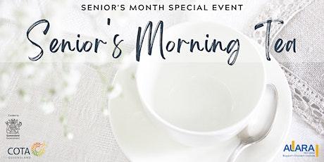 Senior's Morning Tea tickets