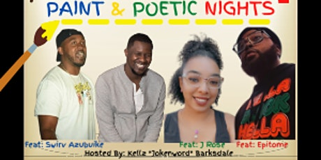 Paint & Poetic Nights tickets