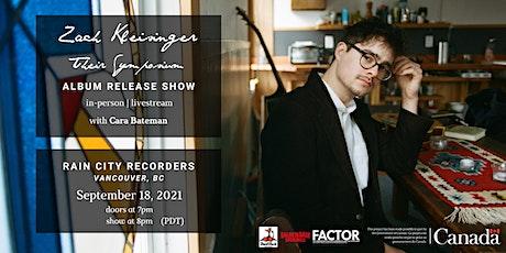 """Zach Kleisinger """"Their Symposium"""" Album Release Show tickets"""