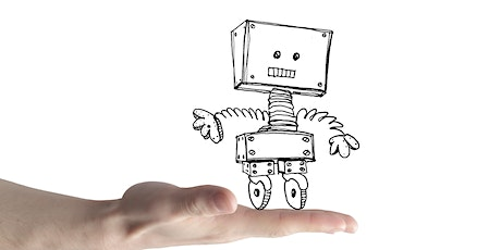 School Holidays Online  Drawing Workshop for Kids  6 -12 Years - Robots tickets