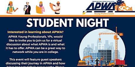 APWA YP Student Leadership Night tickets