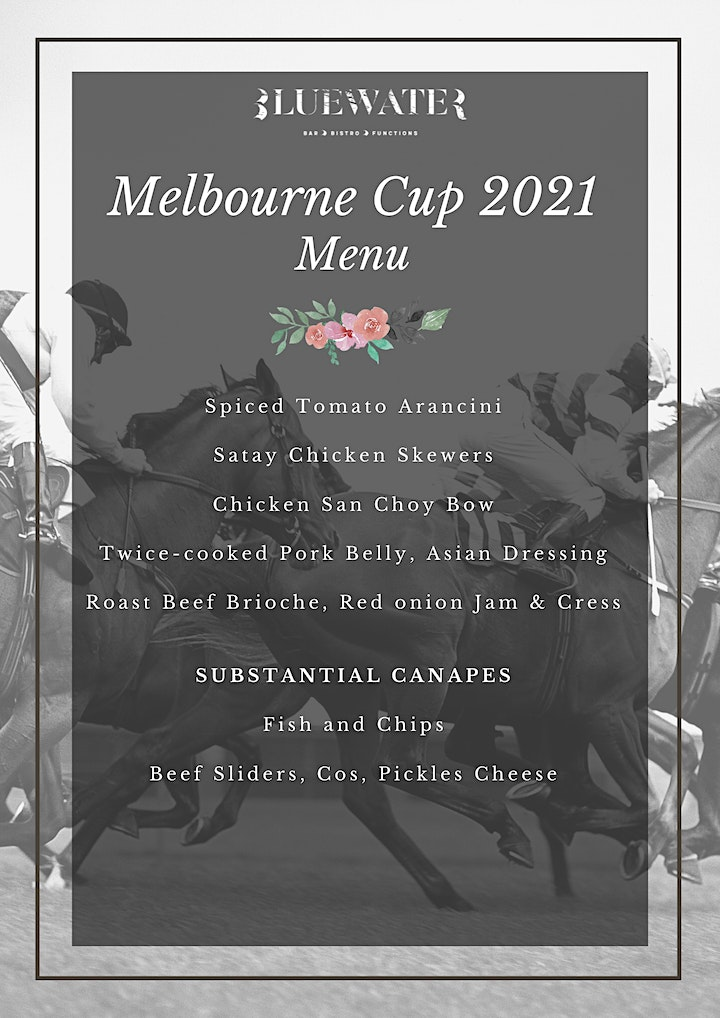 Melbourne Cup at Bluewater  Bistro image