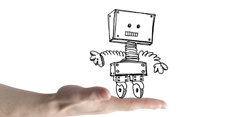 School Holidays Online  Drawing Workshop for Youth 13 -18 Years - Robots tickets