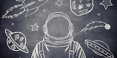 School Holidays Online  Drawing Workshop for Youth  13 -18 Yrs. Outer Space tickets