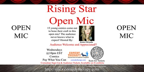 The Rising Star Open Mic - Sep 29th tickets