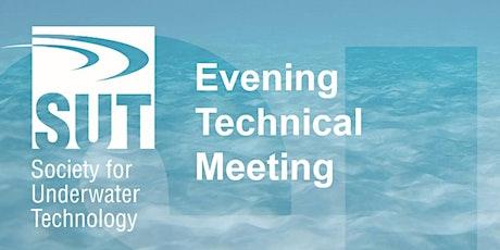 October Evening Technical Meeting tickets