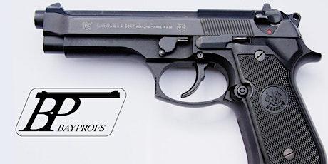 Bayprofs NRA Basics of Pistol Shooting Class tickets