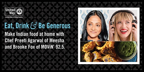 Make Indian Food at Home with Meesha tickets