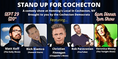 Stand Up for Cochecton! - A Comedy Show Fundraiser for Cochecton Democrats tickets