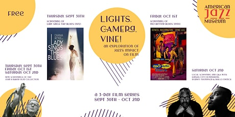 Lights, Camera, Vine! - an exploration of jazz's impact on film tickets