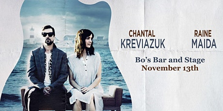 RAINE MAIDA & CHANTAL KREVIAZUK tickets