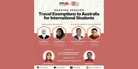 Sharing Session: Travel Exemptions for International Students in Pandemic tickets