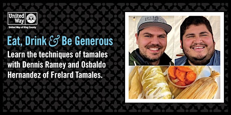 Learn the Techniques of Tamales with Frelard Tamales tickets