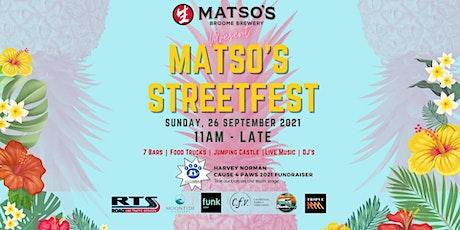 Matso's 21st Birthday - 'Street Fest' tickets