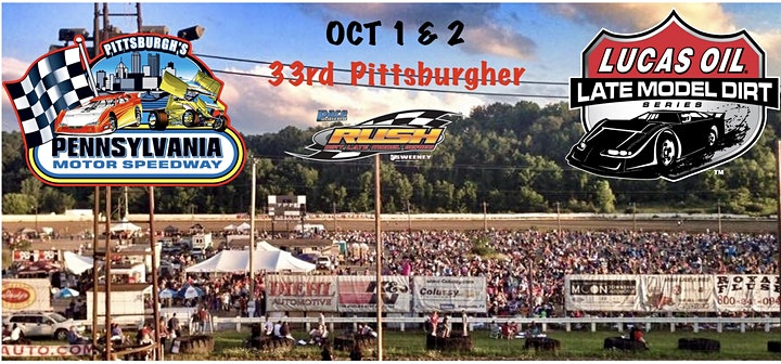 Drive in Viewing Pittsburgher weekend - 2 days, Oct 1 & 2 image
