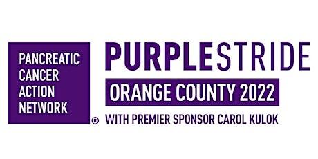 2022 PanCAN PurpleStride Orange County with Premier Sponsor Carol Kulok tickets
