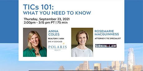 TICs 101: What You Need To Know tickets