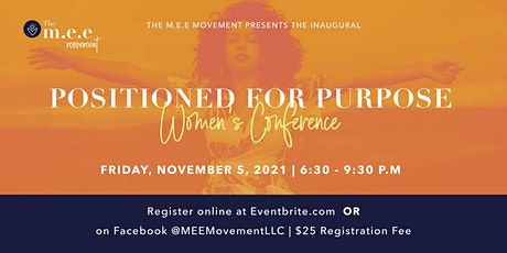 Positioned for Purpose Women's Conference tickets