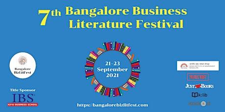 7th Bangalore Business Literature Festival tickets