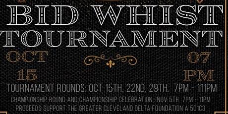 Bid Whist Card Tournament tickets