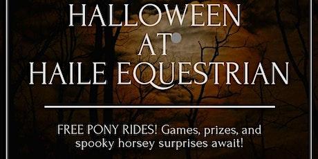 Halloween at Haile Equestrian tickets
