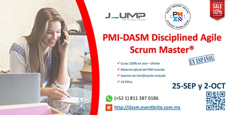 PMI-DASM® Disciplined Agile Scrum Master - Curso Oficial de Certificación entradas