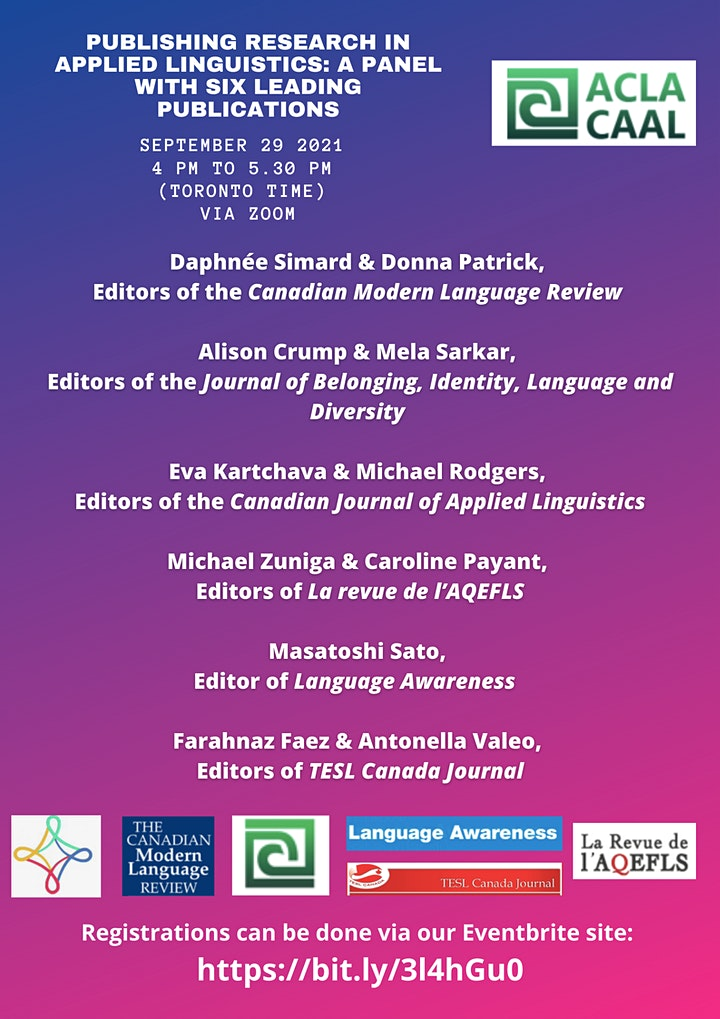 Publishing research in applied linguistics image