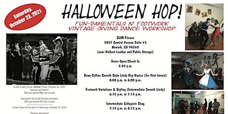 Halloween Hop: FUN-damentals n' Footwork Vintage Swing Dance Workshop tickets