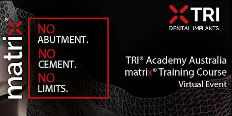 Virtual Event |TRI® Academy Australia | matrix® Training Course tickets