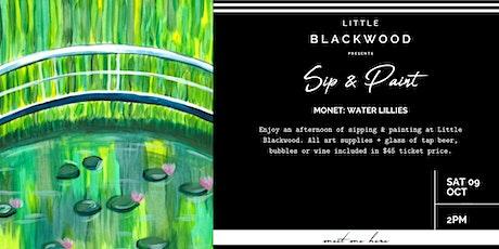 Sip & Paint: Monet Water Lillies at Little Blackwood, Queenstown tickets