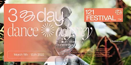 121 Festival tickets