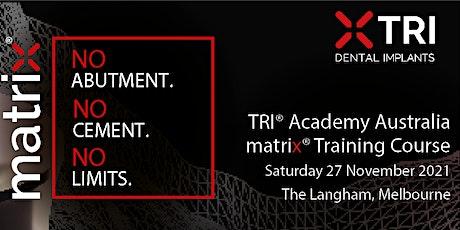 Melbourne | TRI® Academy Australia | matrix® Training Course tickets