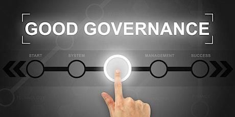 Online Governance Training - Melbourne - November 2021 tickets