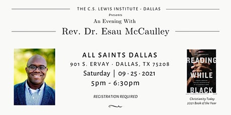 An Evening with Esau McCaulley tickets