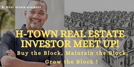 H-Town Real Estate Meet Up: Masterminding for Wealth tickets