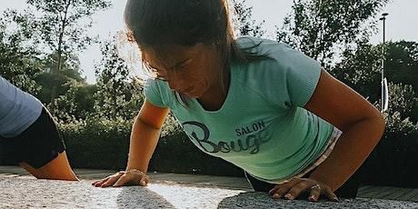 Parc-N-Run x Évolution préparation physique billets