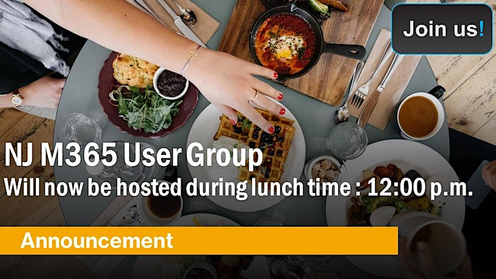 NJ M365 User Group Monthly Meetups image