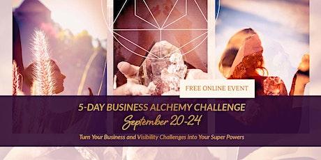 5-Day Business Alchemy Challenge tickets