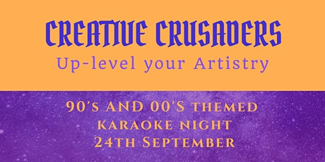 Creative Crusaders Presents; Karaoke and Cacao - 90's & 00's Edition entradas